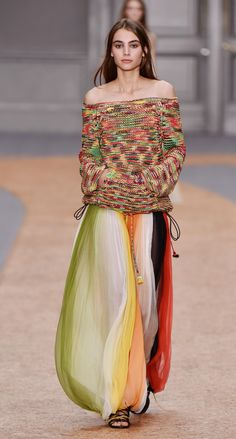 Look 23 from the Chloé Spring-Summer 2016 collection