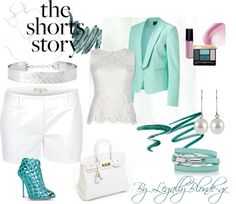"""""""Shorts!"""" by legallyblonde-gr ❤ liked on Polyvore"""