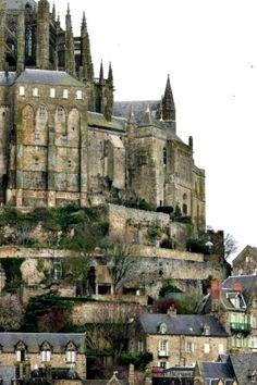 Mont Saint-Michel, France by carter flynn