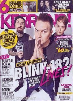 #Kerrang #magazine 4th june 2016 - blink 182 - rockstar houses - #architects @new, View more on the LINK: http://www.zeppy.io/product/gb/2/282103106463/
