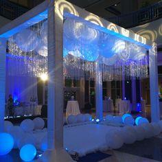Event Management - Eventrics | Event Decor - Occasions by Shangri-la | Event Photography - Potthast Studios | Cocktail Reception - Entertainment | http://www.eventrics.com | #IceSkatingRink #Branding #BrighthouseRBA