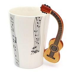 Tee Kaffee Tasse aus Keramik Klassische Gitarre Griff und... https://www.amazon.de/dp/B00VRI6G66/?m=A37R2BYHN7XPNV