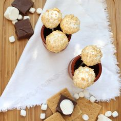 S'mores Fudge Pops