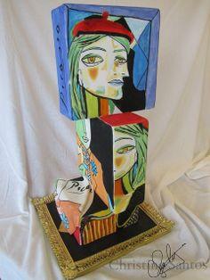Picasso cake by Christine's CakeCreativity, via Flickr