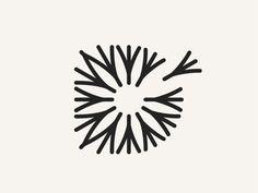 Dandelion designed by Winston Tabar. Business Logo Design, Brand Identity Design, Branding Design, Creative Business, Logo Branding, Down Icon, Dandelion Designs, Devine Design, Logo Shapes