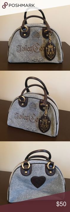 Juicy couture purse! Juicy couture purse! Like new! Great condition! Just like brand new! Gray suede! Juicy Couture Bags
