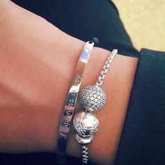 Thomas Sabo Love Bridge + Karma Beads = perfect jewelry combination