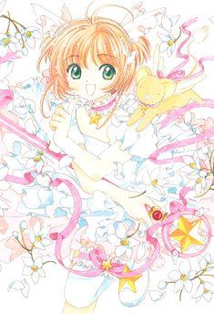 Manga Illustration, Illustrations, Manga Anime, Anime Art, Card Captor, Cardcaptor Sakura, Sakura Sakura, Glitter Graphics, Kawaii