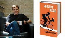 Graeme Simsions och boken Projekt Rosie. Foto: Privat/Forum förlag
