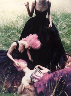 Vogue Italia September 1997 (supplement) photographed by Ellen Von Unwerth