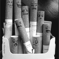 baby i'm going to start doing this to your cigarets!!!