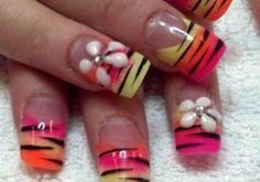 Tiger Nails by Tami