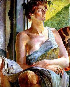 Jacek Malczewski (Polish, 1854-1919) - Portrait of Maria Bal (Balowa), 1907