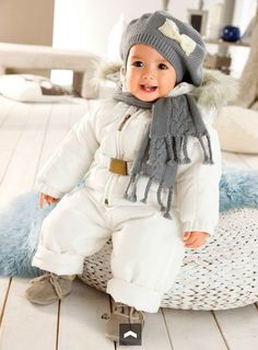 If all she'll do is stand among the snowstorm, she'll still must have a strong newborn baby snowsuit in order to keep her sunny and of course the boy's swimsuit characteristics neat toggles and delightful have ears. Baby Outfits, Cute Skirt Outfits, Winter Outfits For Girls, Boys And Girls Clothes, Cute Spring Outfits, Kids Outfits, Baby Girl Fashion, Fashion Kids, Toddler Fashion