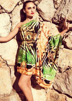 PALM - Tropical print dress