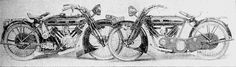 Phelon and Moore were based in Cleckheaton and in 1914 they BUILT TWO PROTOTYPE 90-degree v-twins. They were 770 cc...the first had 2 gears and the second had 4 gears.