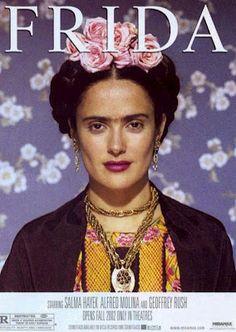 Selma Hayek as Frida Kahlo