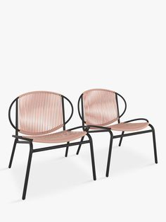 Buy Plaster John Lewis & Partners Ellipse Garden Lounging Chairs, Set of 2 from our Garden Seating range at John Lewis & Partners. Furniture Care, Garden Furniture, Outdoor Furniture, 20 Stone, Space Up, Outdoor Chairs, Outdoor Decor, Garden Seating, Garden Styles