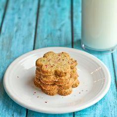 Lebanese Pistachio Cookies with Orange Flower Water
