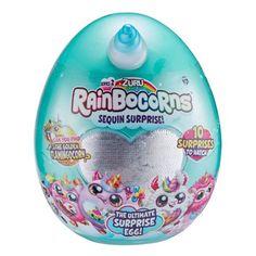 Advertisement - Rainbocorns Series 2 The Ultimate Surprise Egg By Zuru Toys For Girls, Kids Toys, Rainbow Corn, New Egg, Princess Toys, Toys Uk, Purple Unicorn, Baby Alive, Lol Dolls