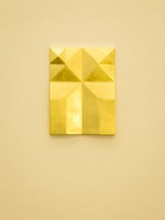 Gonzalo Lebrija, Unfolded gold, 2015, Galerie Laurent Godin