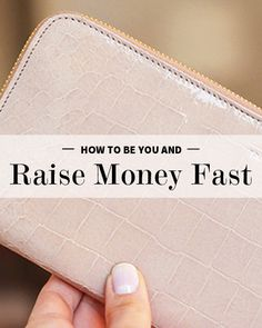 How to be You and Raise Money for your passion.