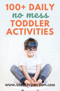 Add some of these toddler activities to your daily toddler routine, there's something for every toddler schedule - educational activities, no prep easy activities, outdoor toddler activities, indoor toddler activities and so much more!