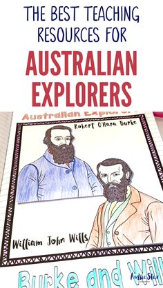 This outstanding range of Australian Explorers Teaching Resources are aligned with the Australian Curriculum and have been designed for your Year 5 HASS Australian History lessons. The activities in these resources are fun, hands-on and interactive and cover Captain Cook, Matthew Flinders, Charles Sturt, Burke and Wills, Ludwig Leichhardt, Paul Strzelecki, John Stuart, Edward Eyre and Blaxland, Lawson and Wentworth. Everything you need to teach this important topic is right here! Road Trip Activities, Classroom Activities, Teaching History, Teaching Resources, Federation Of Australia, History Posters, Research Skills, National Curriculum, Curriculum Planning