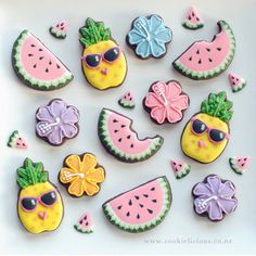 456 Best Fruit And Veggie Cookies Images On Pinterest In 2019
