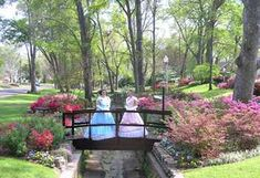Tyler Azalea Trail is held in late March and early April. Met a cashier at Walmart who was so pleased her teen daughter is being considered as a Tyler Belle. The lovely costumed greeters along the trail engage guests by sharing interesting facts and info about Tyler.