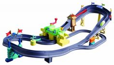 Brinquedo Tomy Chuggington Die-Cast Chugger Championship Rev'n Race Railway Deluxe Playset #Brinquedo #Tomy International