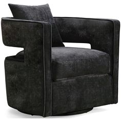 Kenneth Swivel Chair, Black – High Fashion Home