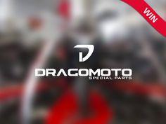 Logo realizzato per una neonata azienda che commercializza parti speciali per moto. Si richiede un logo semplice e stilizzato. Contest: DragoMoto Primo Classificato Data: 6 Dic. 2014 Piattaforma: Y...