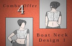 World's Online Blouse Drafts Seller Blouse Patterns, Blouse Designs, Sewing Patterns, Langa Voni, Stylish Blouse Design, Blouse Online, Embroidery Techniques, Boat Neck, Clothes For Women