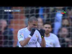 Pepe Amazing Header Goal | Real Madrid vs Celta Vigo 1-0 | 05/03/2016