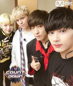 Woozi, Vernon, Wonwoo & Jun