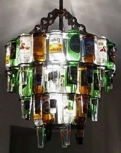 Man cave beer light