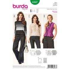 Burda Style Pattern 6567 Blouse