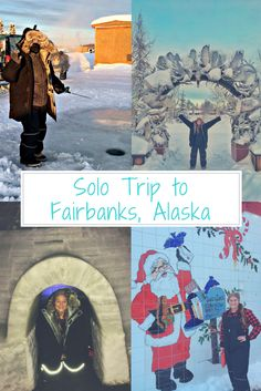 Top things to do in Fairbanks, Alaska during winter.