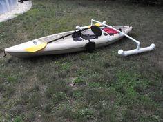 kayak outriggers - Google Search Kayaking Quotes, Kayaking Gear, Kayak Camping, Canoeing, Camping Hacks, Fishing 101, Kayak Fishing, Fishing Boats, Kayak Boats