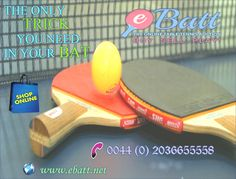 Ebatt provides table tennis for all professionals to promote it. Suppliers of high quality table tennis equipment throughout the UK. Call: 0044 (0) 2036655558. Search our store @ http://www.ebatt.net