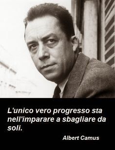 Portrait of Albert Camus - (French Algerian author, philosopher, and journalist who was awarded the Nobel Prize for Literature in Writers And Poets, Writers Write, Hiroshima, Albert Camus Frases, Night Pictures, Life Quotes Love, Family Quotes, Wisdom Quotes, Quotes Quotes