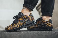 This Nike Air Max 90 Comes Covered In Cheetah Print