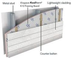 steel frame building wall detail - Google Search