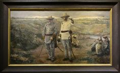 National Museum: Governor Blanco and His Troops Felix Martinez (1895)