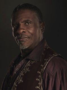 Keith David, voice of Admiral David Anderson from the Mass Effect games.