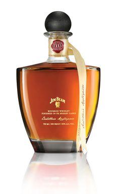 Jim Beam #packaging #bottle #ribbon