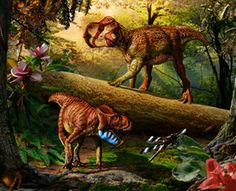 Scientists think that the creation of the Rocky Mountains payed a big role in dinosaur diversity.