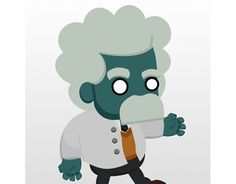 """Check out new work on my @Behance portfolio: """"Zombie character design""""…"""