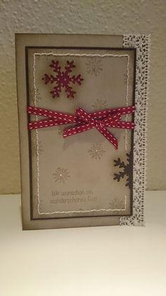 Die Weihnachtskarten sind los.... - the-creative-things